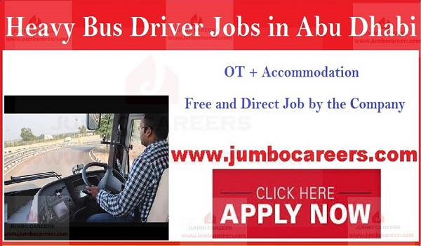 Heavy Bus Driver Jobs In Abu Dhabi With Free Accommodation