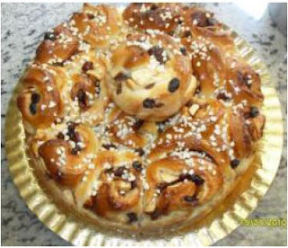 CHELSEA BUNS (Panecillo inglés) thermomix