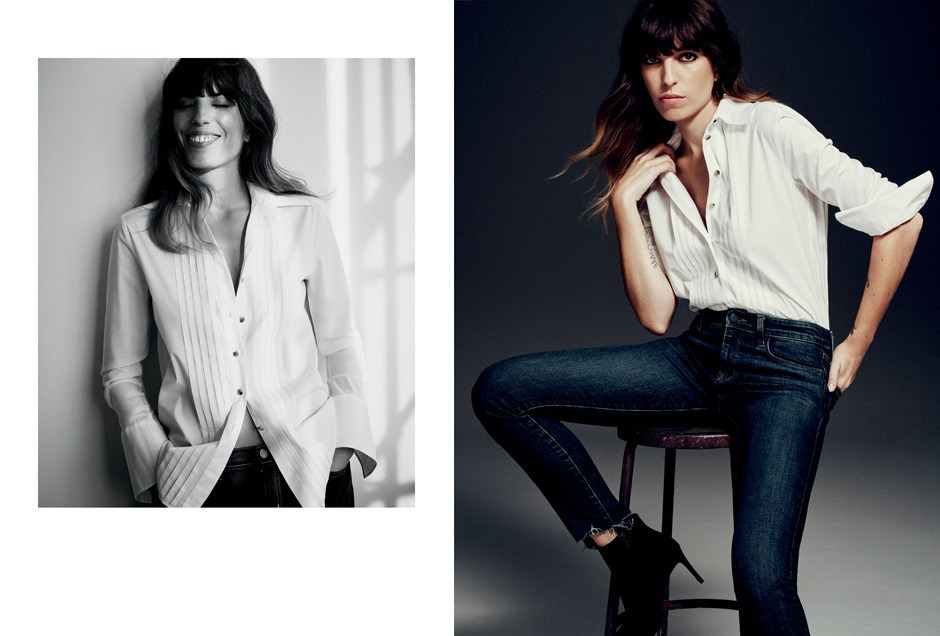 Lou Doillon by Matteo Montanari for J Brand Autumn/Winter 2016