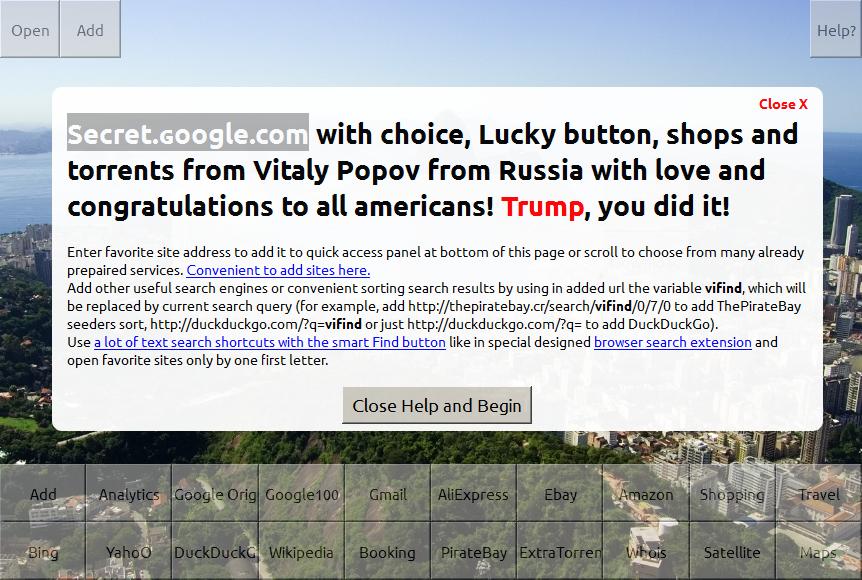 fake google site