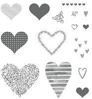 Spread some love with the Heart Happiness stamp set from Stampin' Up