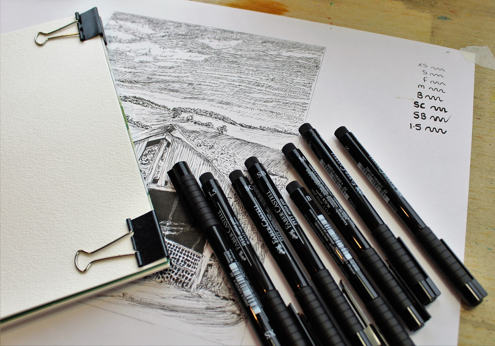 faber and castell artist pens perfect for bullet journalling