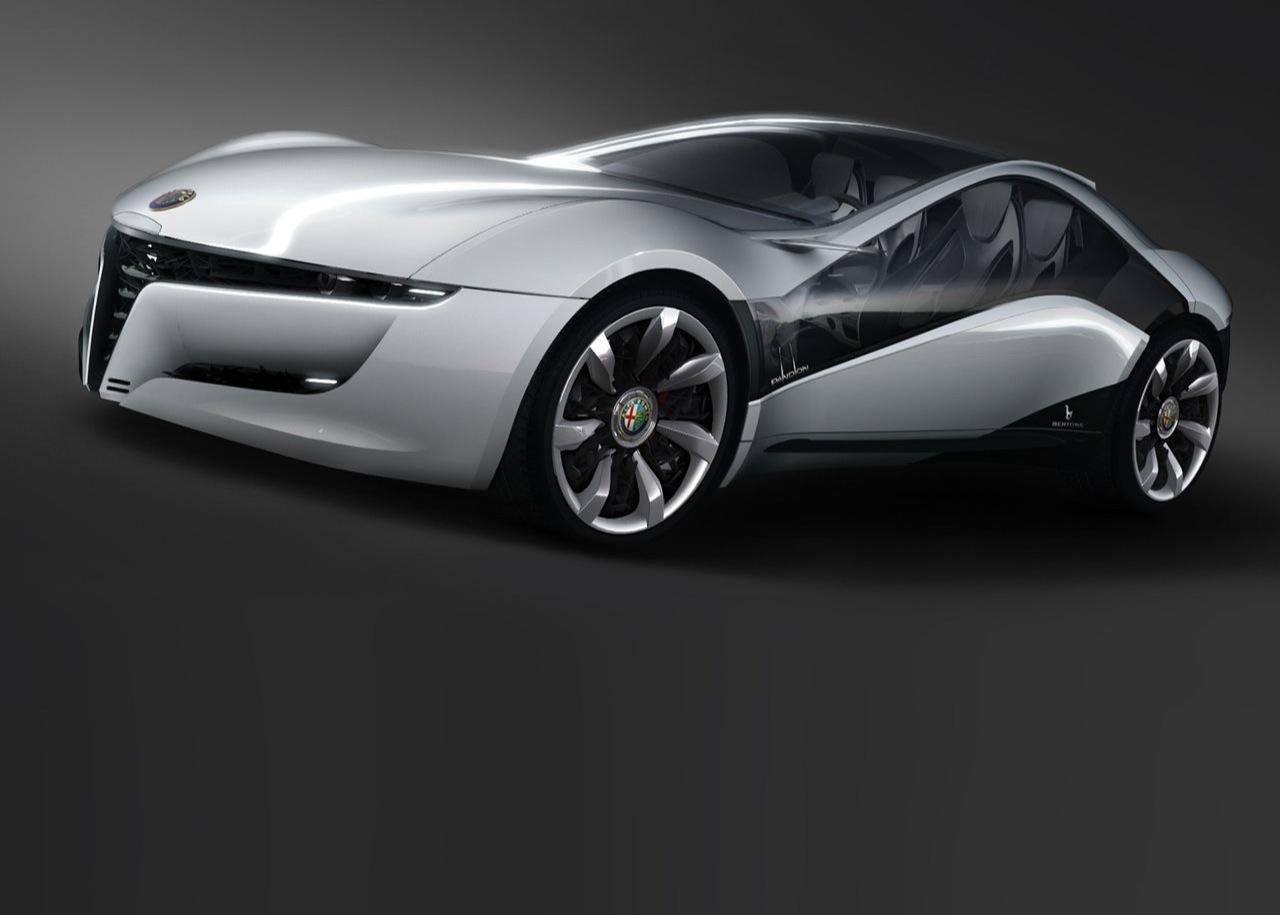 2010 alfa romeo pandion concept cars sketches. Black Bedroom Furniture Sets. Home Design Ideas