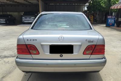 Eksterior Mercedes-Benz W210 Prefacelift