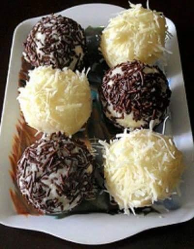 Cara Membuat Kue Tradisional Yang Mudah Dan Praktis : membuat, tradisional, mudah, praktis, Resep, Singkong, Coklat, Praktis