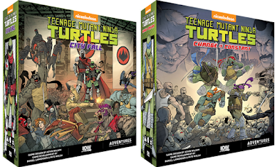 IDW Games Teenage Mutant Ninja Turtles Board Games
