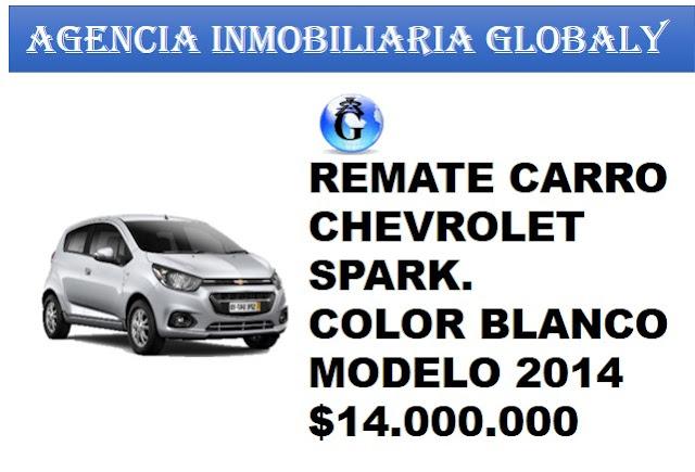 REMATE CARRO CHEVROLET SPARK 2014