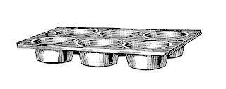 baking muffin pan image download clip art