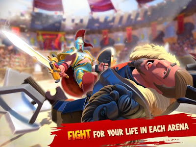 Download Gladiator Heroes Mod APK v1.7.2 Full Hack (Unlimited All) Terbaru 2017 Gratis