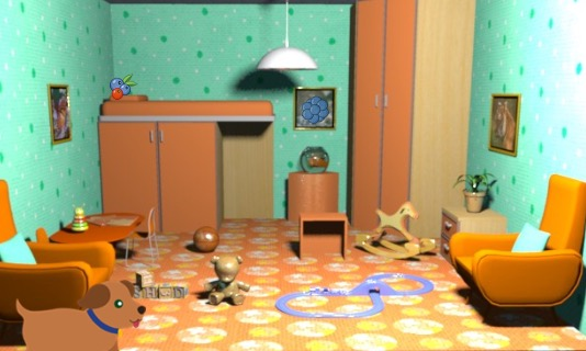 LoL Hidden Objects House Escape 3 Walkthrough