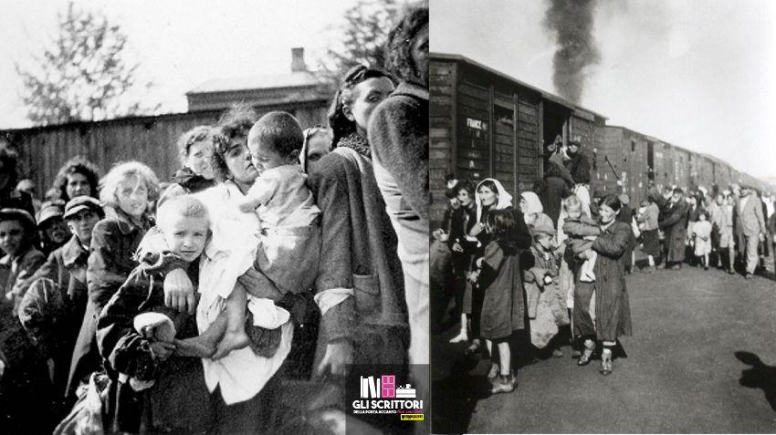 La deportazione a Treblinka | Ph anonimo - Archivio Yad Vashem