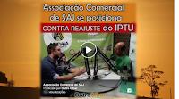 🎥 Associação Comercial de SAJ se posiciona contra reajuste do IPTU