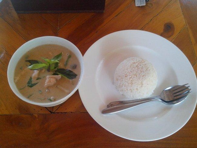 Грин Карри с рисом