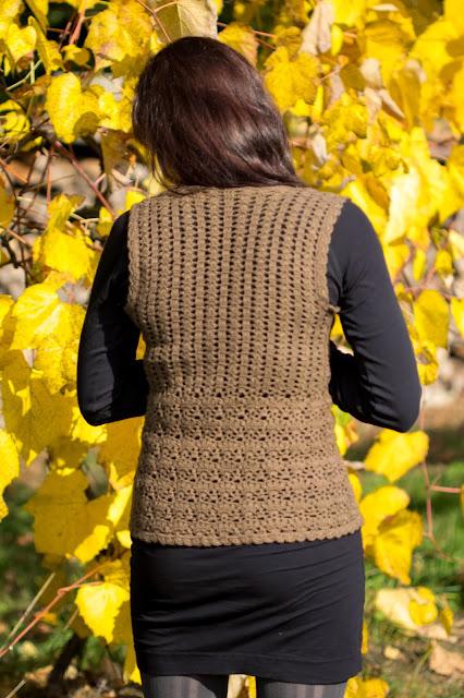 crochet vest back