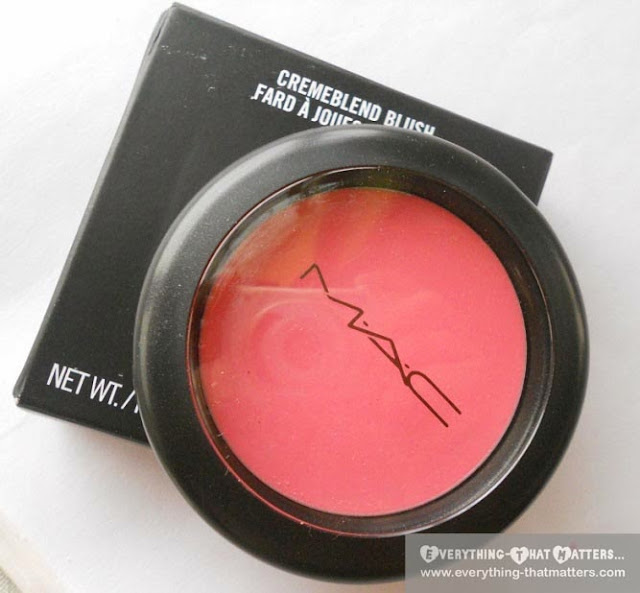 MAC So Sweet So Easy Cremeblend Blush-:Swatch, Review And FOTD