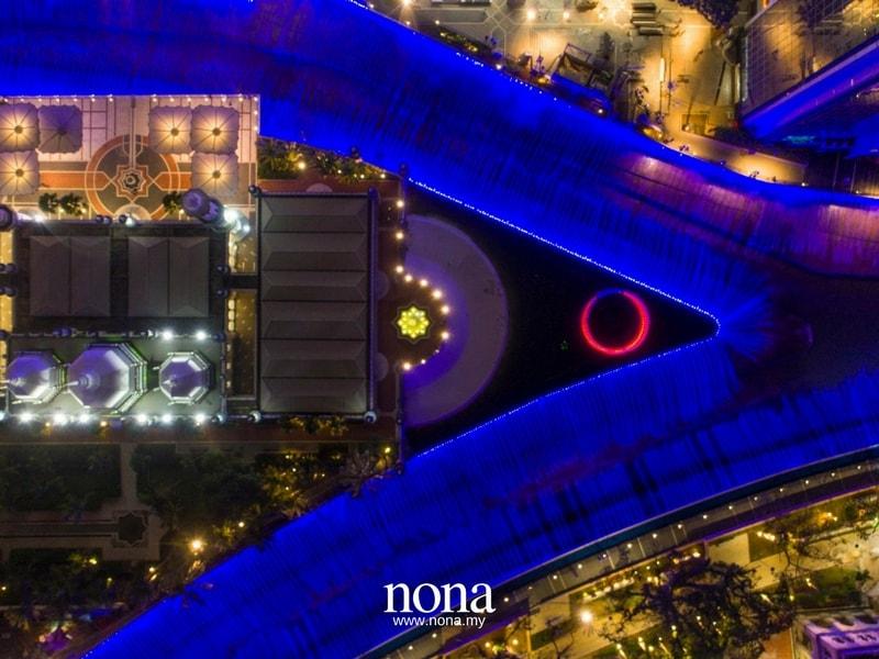 kolam biru overview