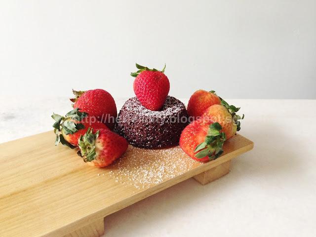 Chocolate Molten Lava Cake Recipe Singapore