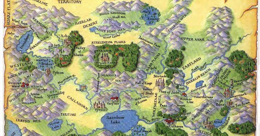 Terry Brooks Shannara Books Are Getting A T V Series Scribbles World