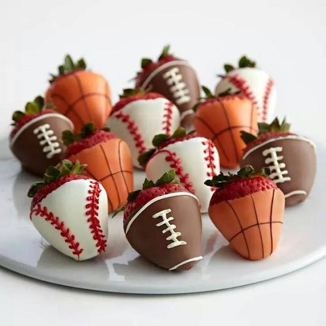 Chocolate covered strawberries #4