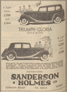 Sanderson & Holmes Ltd - Derby Daily Telegraph, 4 January 1935