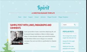 Spirit Blogger Template