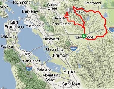 2013 Amgen Tour Of California Fan Guide Pedal Dancer 174