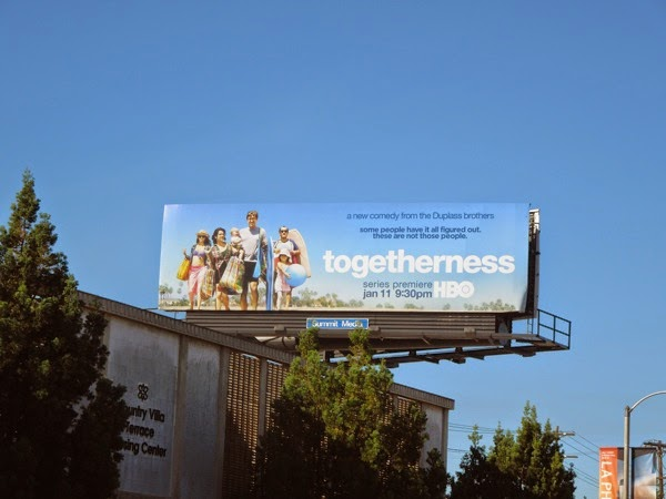 Togetherness series launch billboard