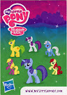 MLP Wave 6 Minuette Blind Bag Card