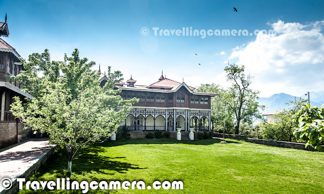 Sarahan town in Shimla is known for popular Bhimakali temple but this town has very interesting history associated. In this blogpost we will share about Rajmahal, which is just behind Bhimakali Temple was one of them. So let's get started with the tour of this beautiful palace which is still maintained pretty well and looks even more beautiful during July/August month when Apple orchards are also full of fruits.
