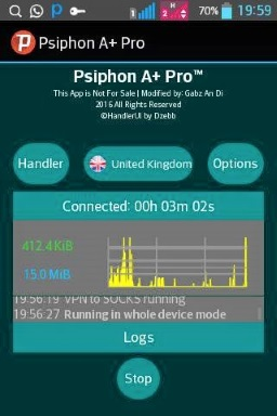 How to browse on your phone for free on Glo network using Psiphon A+ Pro