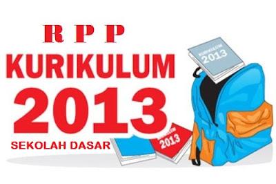 RPP SD Kelas 1 Kurikulum 2013 Edisi Revisi 2016