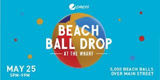 5TH Annual Pepsi Beach Ball Drop at The Wharf in Orange Beach AL