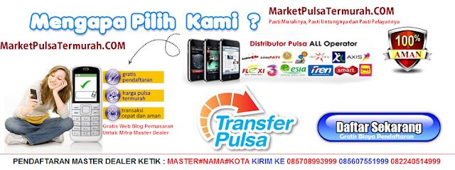 Market Pulsa Server Distributor Pulsa Paling Murah Di Jawa Timur