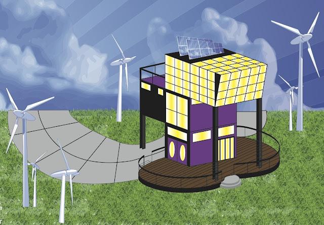 Klaassen designs prefabricated house design for Prefabricated underground homes