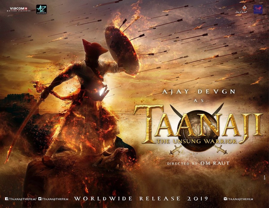 Ajay Devgn's Taanaji - The Unsung Warrior First Look Poster is out