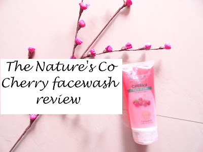 REVIEW: The Nature's Co Cherry Facewash  image