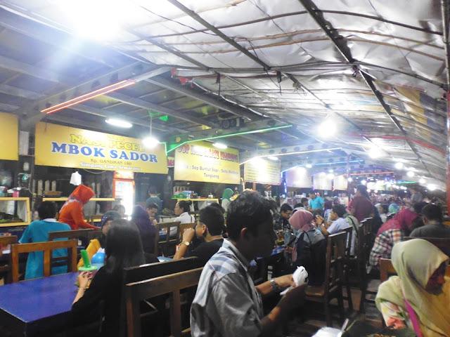 Kuliner di Simpang Lima Semarang