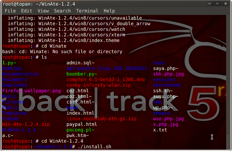 Cara Install Windows 7 Dan 8 Themes Kali Linux