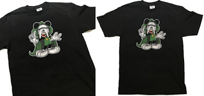 """MM Doom 2"" Mickey Mouse x Disney x MF Doom x DangerDoom T-Shirt by Lightsleepers"