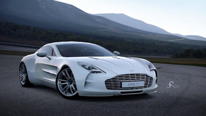 Wallpaper: Aston Martin ONE-77