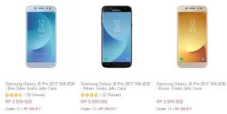 Harga Rilis Samsung J5 Pro Insentif Jelly Case
