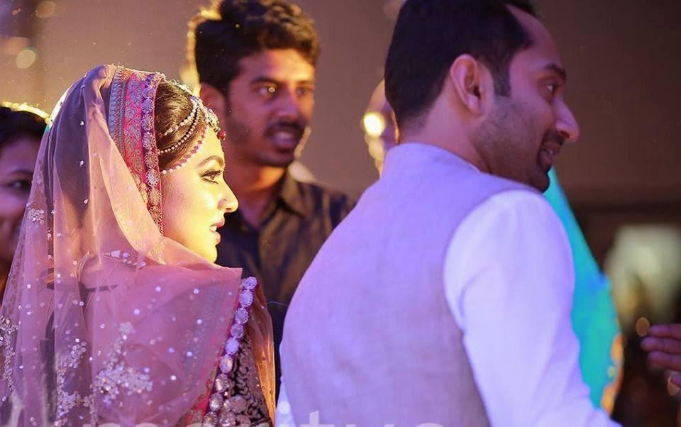 Fahadh Faasil Nazriya Nazim Marriage, Reception, Mylanchi Photos | Tv ...