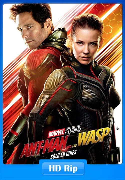 Ant-Man and the Wasp 2018 HDRip 720p Hindi Tamil Eng x264 | 40p 300MB | 100MB HEVC