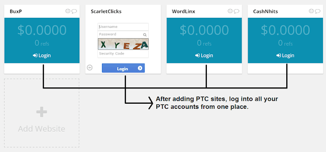 Logging into PTC sites in buxenger