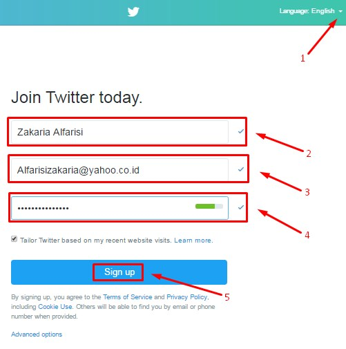 How to Create Twitter Account | Creat New Account on Twitter