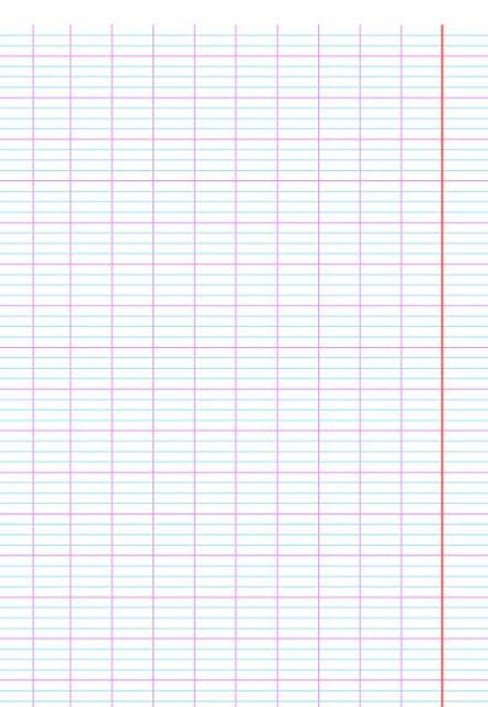 تحميل ورقة كراس مخططة للكتابة عليها