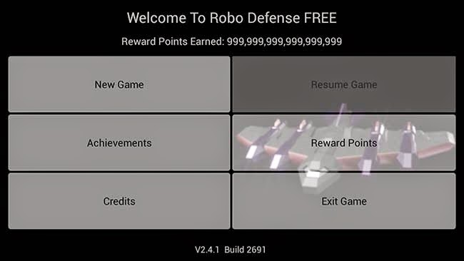 Robo Defense Free v2.4.1 Cheats