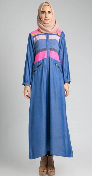Foto Baju Dress Muslim Modern