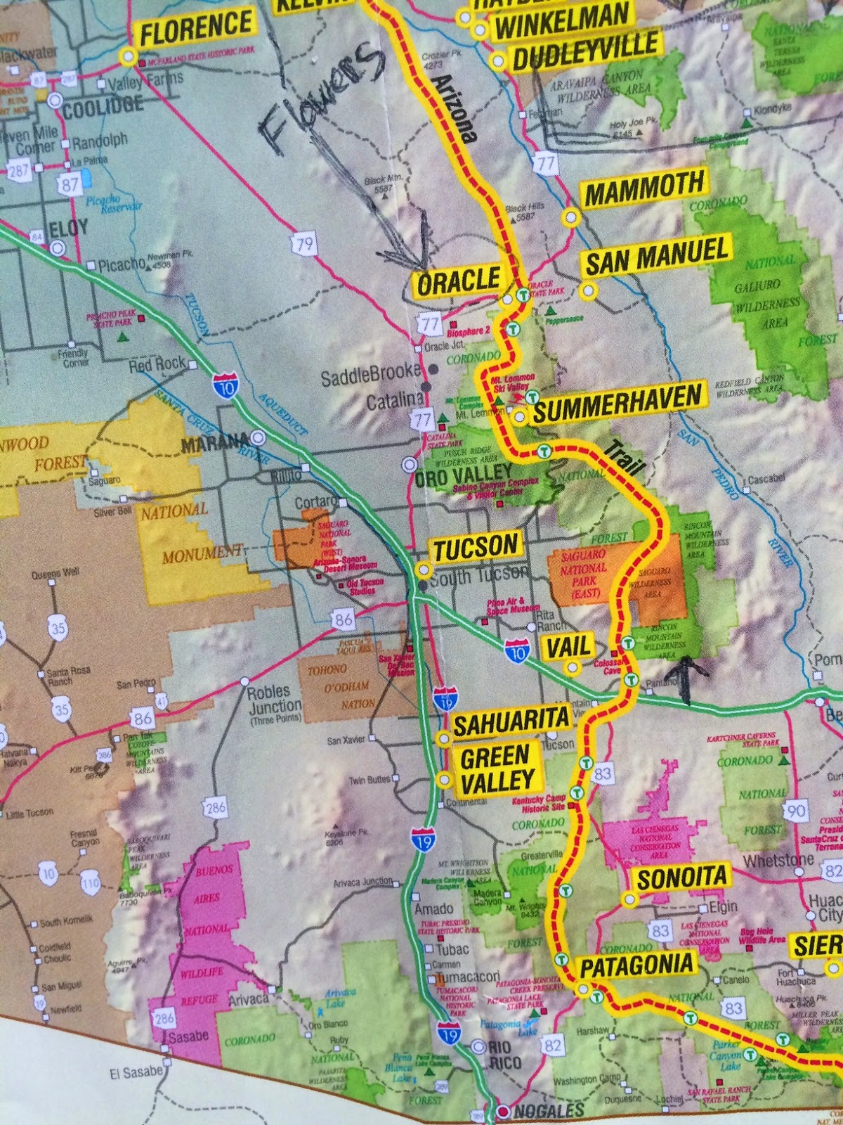 Planning for the Arizona Trail - Pacific Crest Trail Association