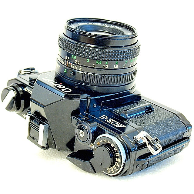 Canon AE-1 35mm SLR Film Camera